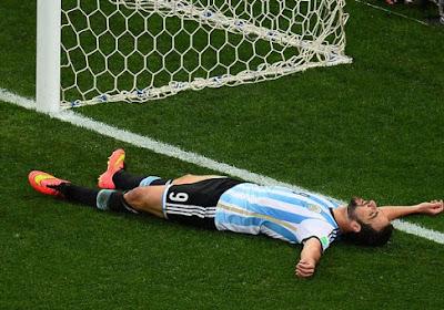 Gonzalo Higuain miste drie jaar op rij drie grote kansen in finales en dacht aan stoppen