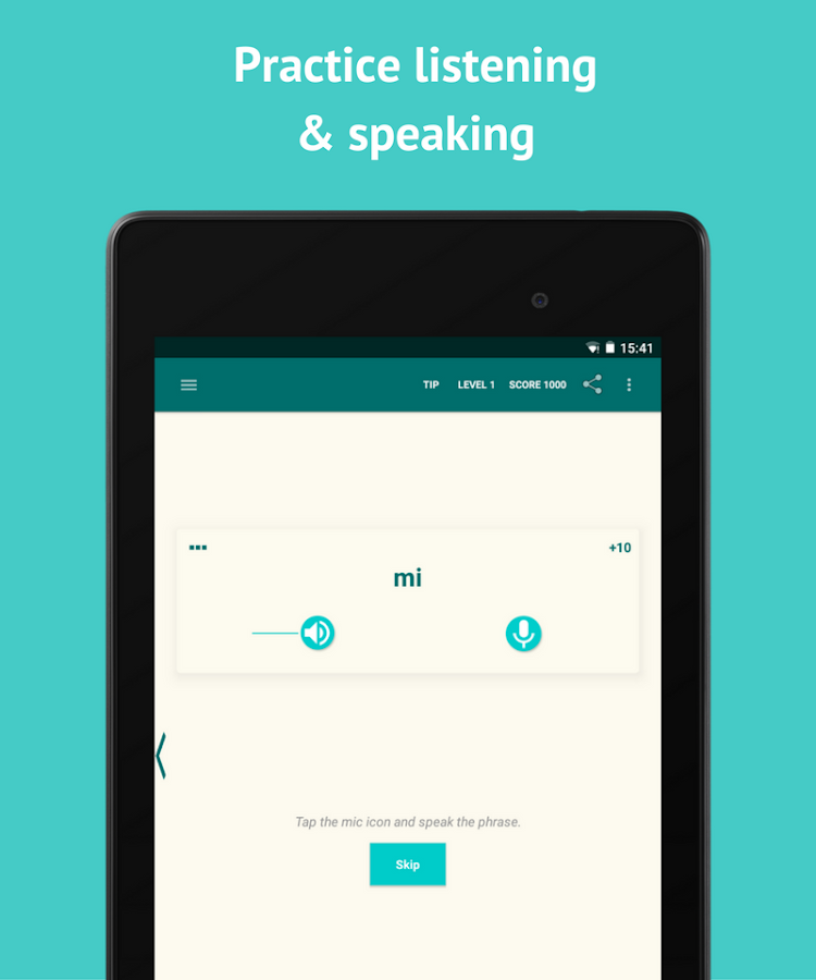 Learn Spanish with SpeakTribe- screenshot