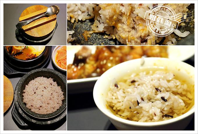 玉豆腐石鍋飯