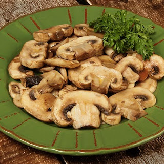 Sautéed Mushrooms Low-Carb Gluten-Free.