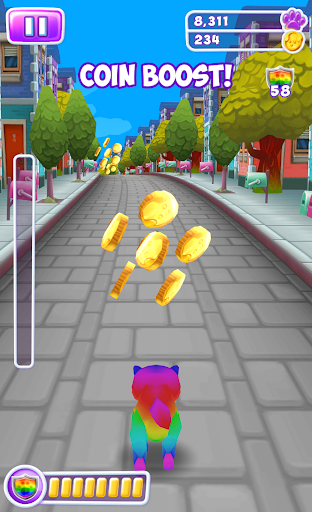 Cat Simulator - Kitty Cat Run android2mod screenshots 2