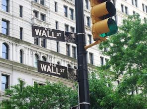 Photo: Wall Streetkin nähtiin