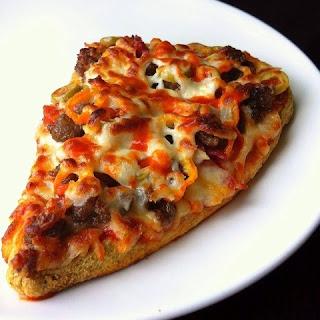 Microwave Coconut Pizza Crust