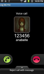 call from annabelle - náhled