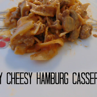 Cheesy Hamburg Casserole