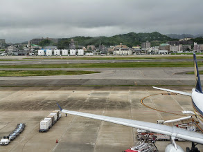 Photo: Fukuoka Airport, from the international terminal. 27th June updated (日本語はこちら) -http://jp.asksiddhi.in/daily_detail.php?id=586