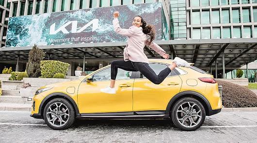 María Vicente, nueva embajadora de la marca Kia