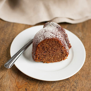 Cinnamon Hazelnut Date Cake