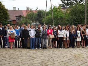 Photo: Początek roku szkolnego 2014/15 - klasy drugie