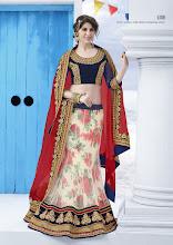 Photo: CODE: 6708 3 PCS Designer Lehenga Saree . Price : USD 106