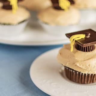 Candy Graduation Cap Cupcakes