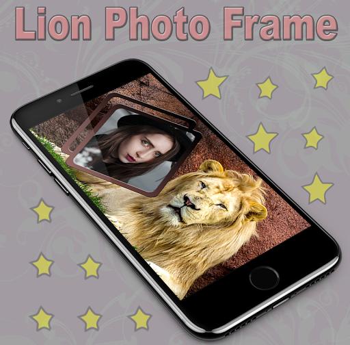 Lion Photo Frame 1.1 screenshots 2