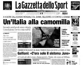 Photo: 3 giugno 2006. Galliani...