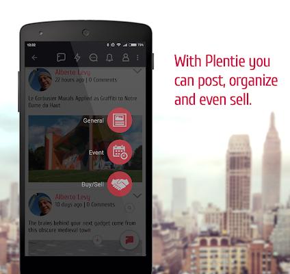 Plentie - screenshot