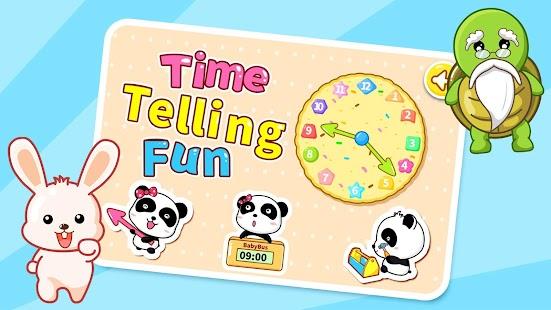 Time Telling Fun by BabyBus - screenshot thumbnail