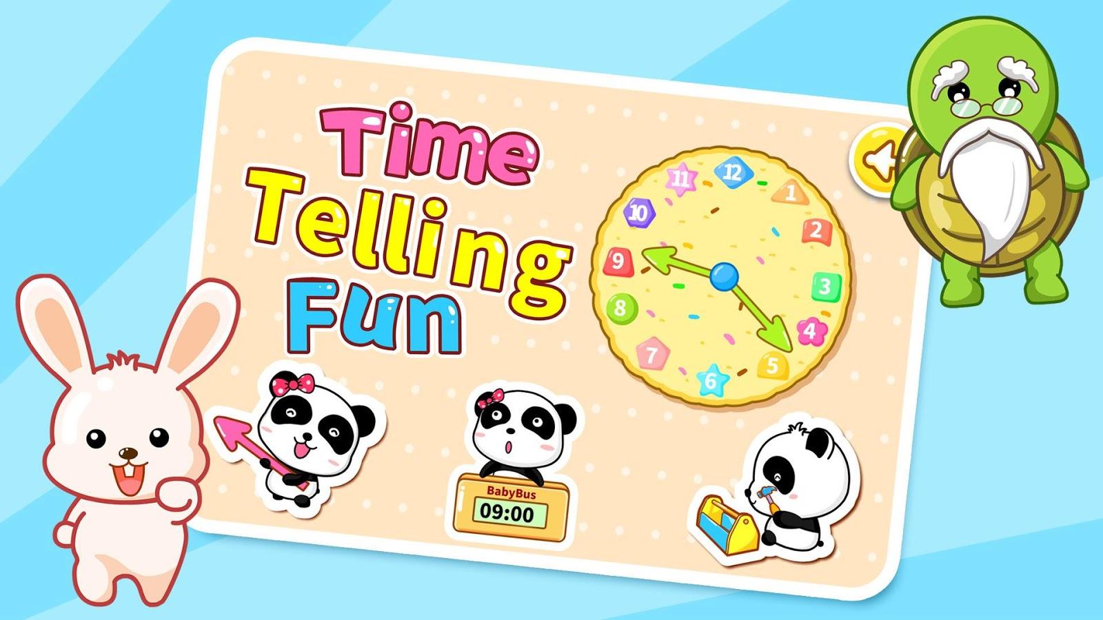Time Telling Fun by BabyBus - screenshot