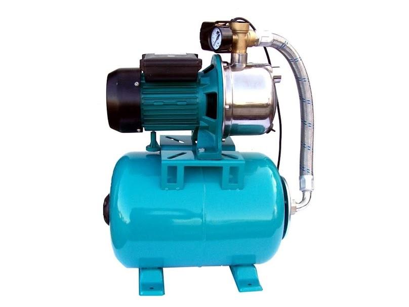 Hydrofor - zapewnia stałe ciśnienie wody w sieci wodociągowej