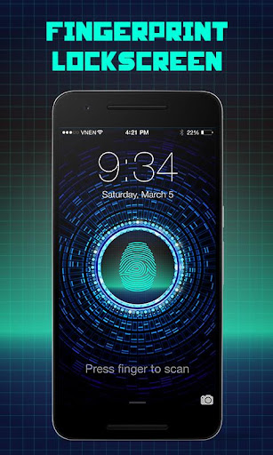 Fingerprint Lock Screen Troll