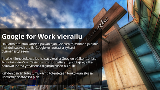 Google for Work MTV Visit - FI (A)