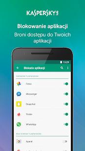 Kaspersky Mobile Antivirus: AppLock & Web Security Screenshot