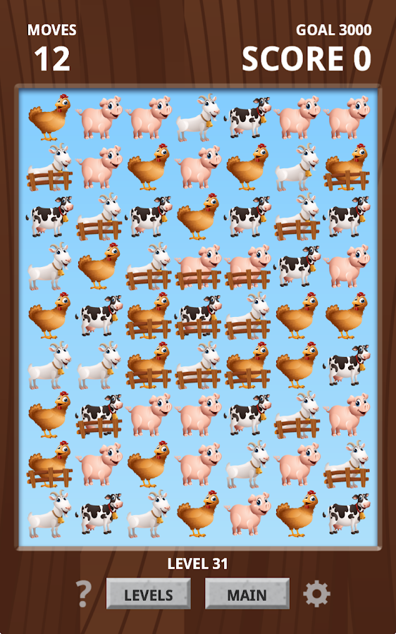 Farm Animal Match Up Game Free- screenshot