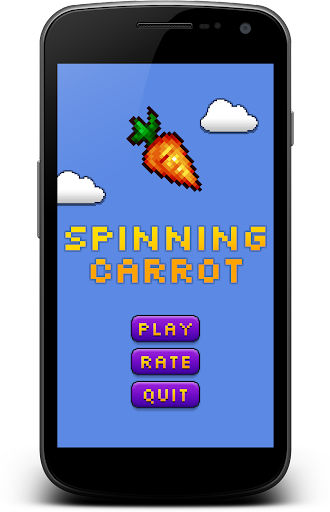 Rising Spinning Carrot