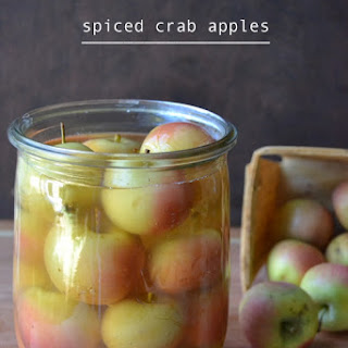 Old Fashioned Spiced Crab Apples