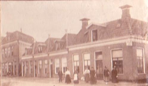 Eeldersingel 20-28 (ca 1903)