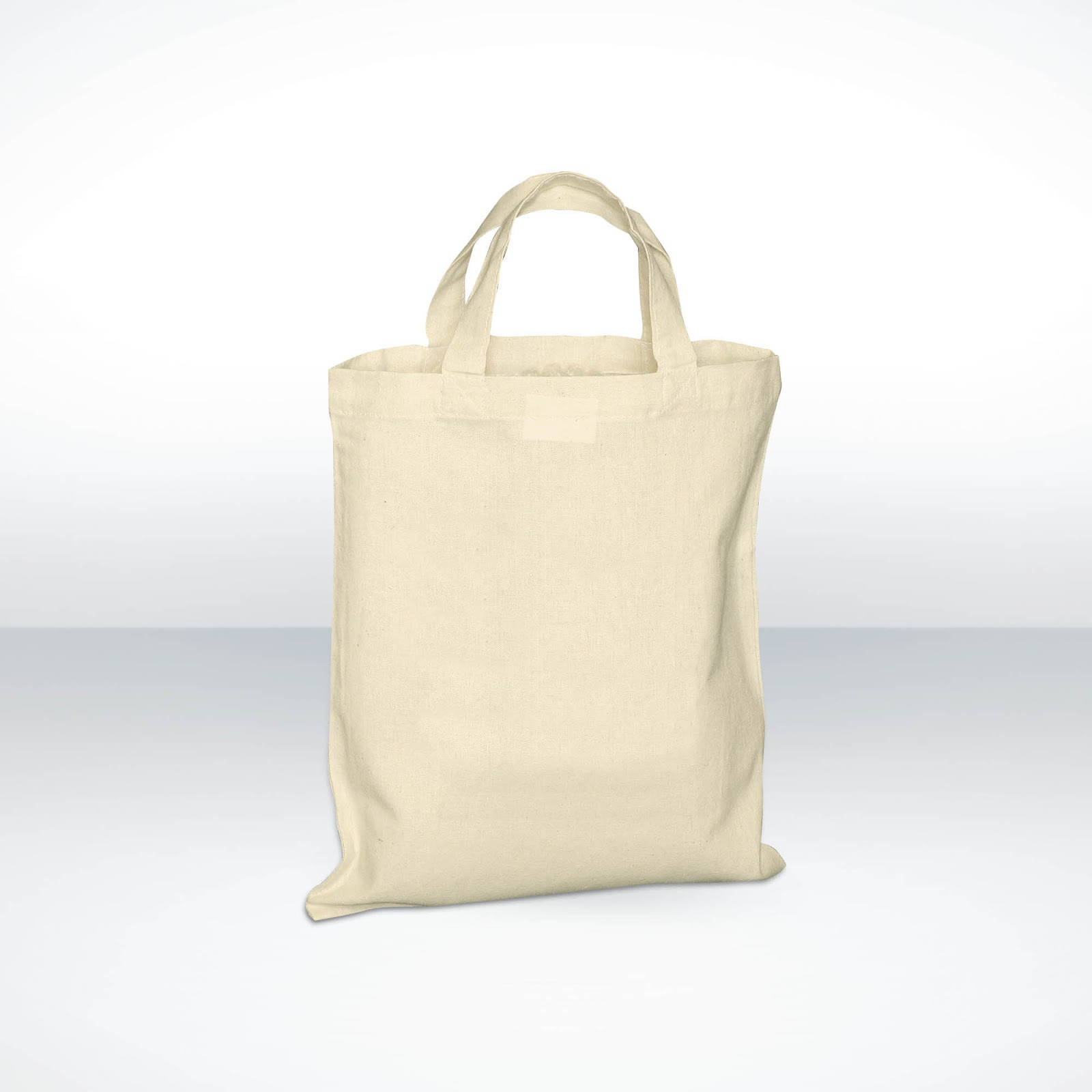 Custom Printed Small Cotton Shopper Bags