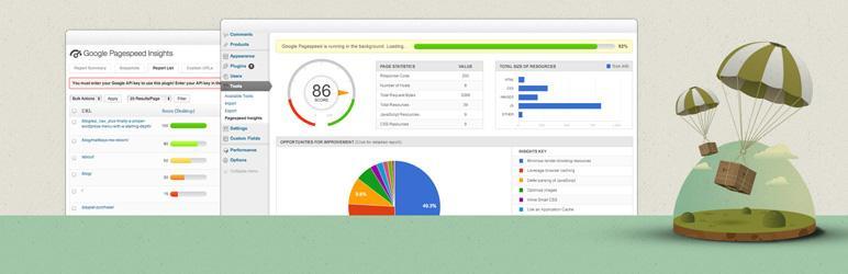 Плагины для WordPress: Google Pagespeed Insights