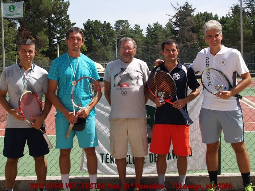 Henrique Vaz, de Vila Real, regressa aos courts e vence torneio de Lamego