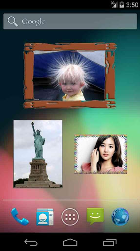 Android Photo Widget Free  screenshot 1