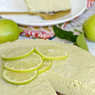 Raw Key Lime Pie.