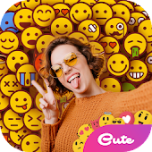 AI Emoji Background - Photo Editor Creative Icon