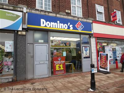Dominos Pizza On Stratford Road Pizza Takeaway In Shirley