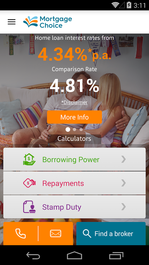 Mortgage Choice Loan Helper- screenshot