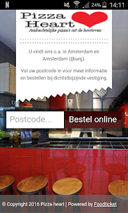 Pizza Heart Amsterdam- screenshot thumbnail