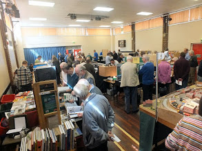 Photo: 003 Main hall from the other end, taken half an hour later and already quite full. Are you in the photo? .