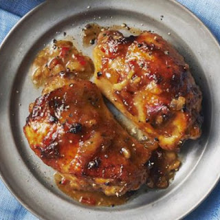 South African chutney chicken.