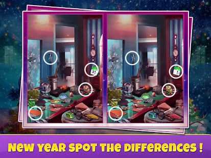 New Year Spot Difference - náhled