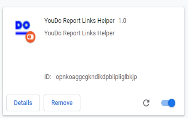 YouDo Report Links Helper