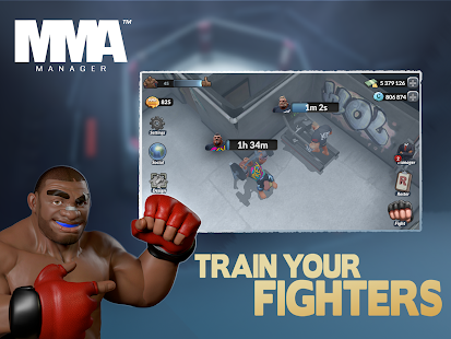 MMA Manager Screenshot
