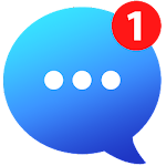 Messenger for Messages,Chat,Video,Text,Call ID icon