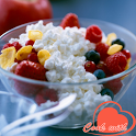 Cottage cheese recipes icon