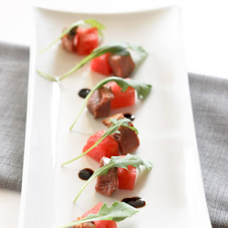 Duck and Watermelon Salad.