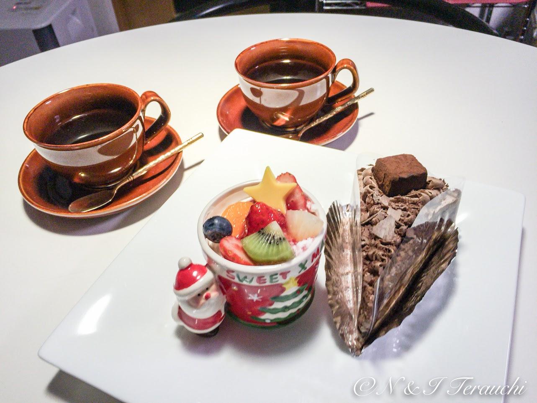 おうちで一足先のクリスマスケーキ!