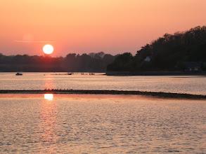 Photo: Coucher de soleil sur Penfoulic