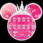 App Cute Pink Crown Minny Keyboard Theme APK for Windows Phone