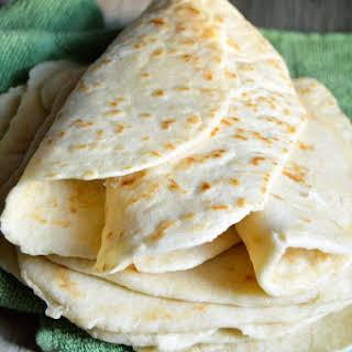 Easy Homemade Tortillas.