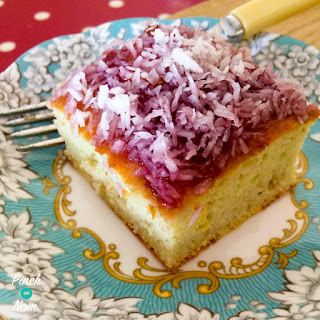1 Syn A Slice Jam And Coconut Sponge | Slimming World